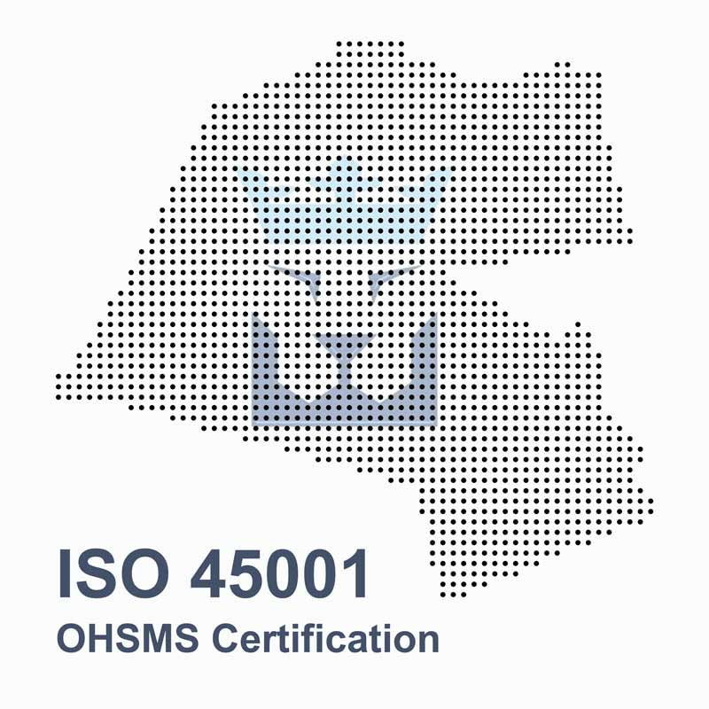 ISO 45001 occupational health and safety management system certification in Kuwait
