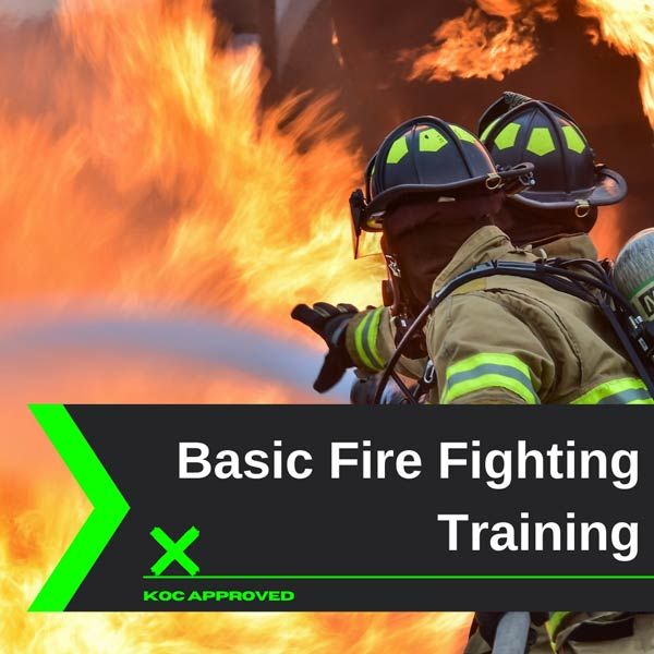 KOC approved Basic fire fighting training in Kuwait