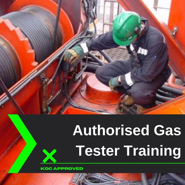 KOC approved authorized gas tester training in Kuwait