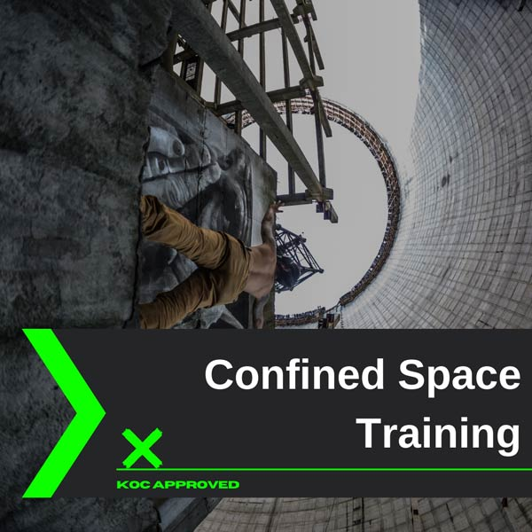 KOC approved confined space training in Kuwait