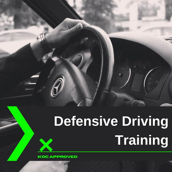 KOC approved defensive driving training in Kuwait