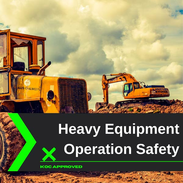 KOC approved heavy equipment operation training in Kuwait