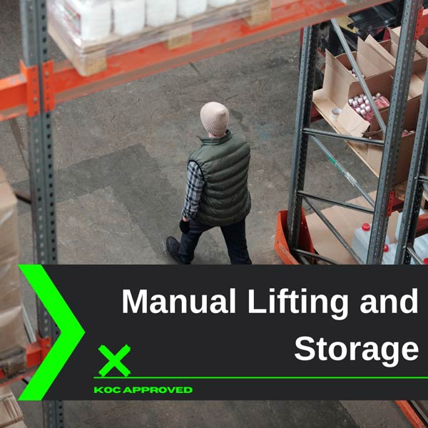 KOC approved manual lifting and storage training in Kuwait