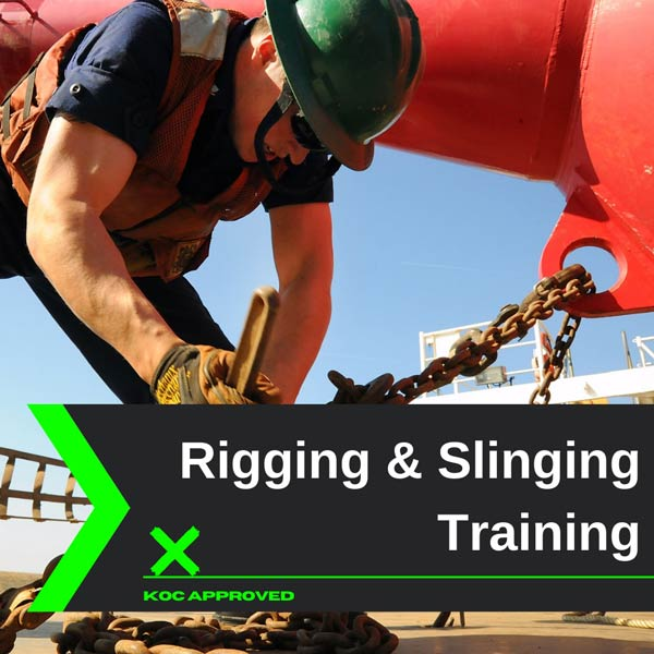 KOC approved rigging and slinging training in Kuwait