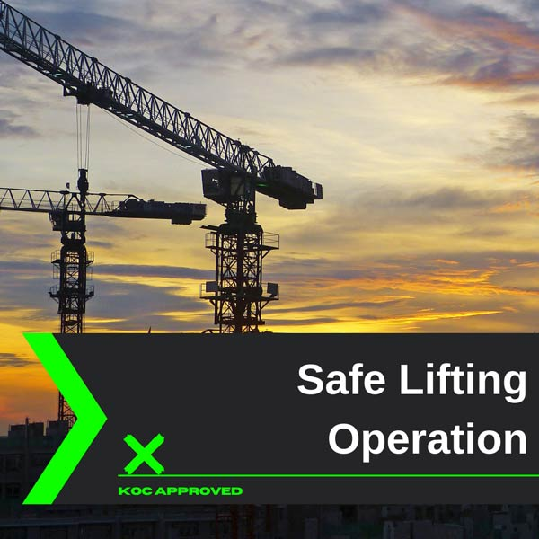 KOC approved safe lifting operation training in Kuwait