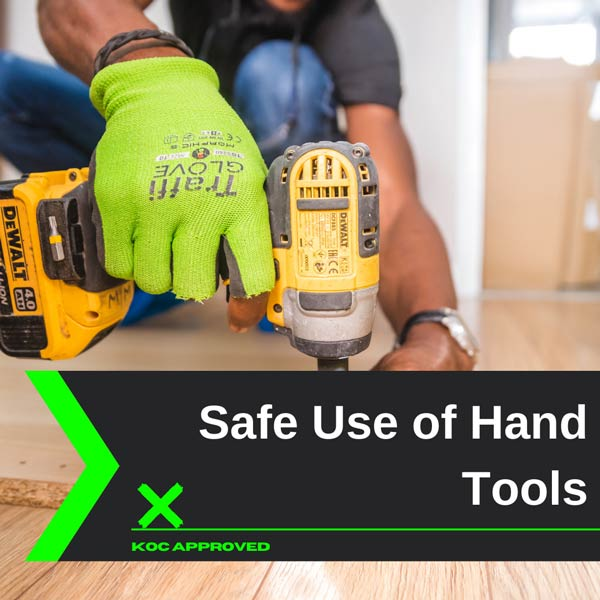 KOC approved training on safe use of hand tools in Kuwait