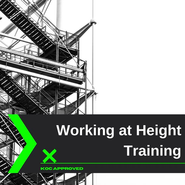 KOC approved working at height training in Kuwait